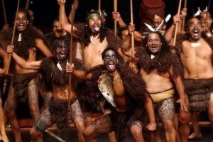 Le Haka des Maori